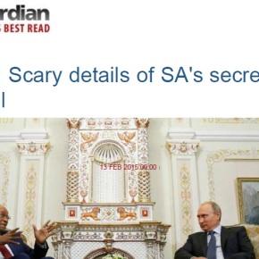 В 31 годовщину Чернобыля Верховный суд ЮАР объявил сделку Росатома «незаконной»