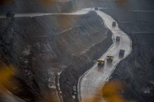 Добыча угля в Кузбассе. Фото: Петр Шеломовский