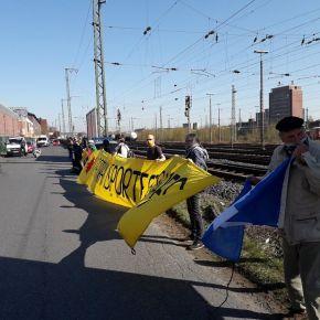 Акция против транспортировки ядерных отходов в Россию – по новымправилам